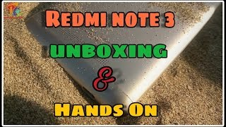 Xiaomi Redmi Note 3 Snapdragon 650 Unboxing & Hands on [Hindi-2017]