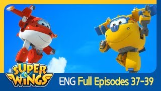 [Super Wings] Full Episodes 37~39(ENG)
