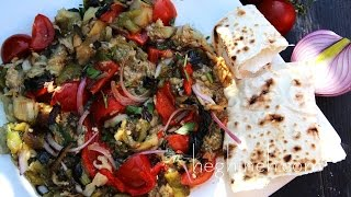 Grilled Vegetables Salad Recipe - Armenian Cuisine - Heghineh Cooking Show