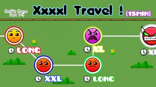XXXXL TRAVEL (15Min With 5 Stages)   Geometry Dash 2.1 : Boffis Game All Part (1~5) - Boffis123