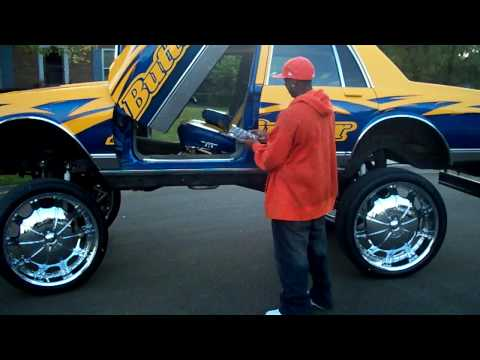 28S ON BOX CHEVY WITH AIRBAGS BUTTERFINGER BOXX