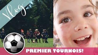 Premier tournois de soccer / 7 ans pour ma grande / Premiers pas! / Vlog #440