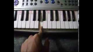 BAPPA MORYA RE TUTORIAL ON PIANO