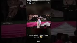 Pastor NJ SITHOLE's prophecy about Mr  Omotoso