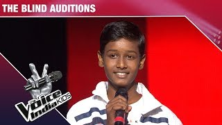 Chetan Bharanga Performs on Sajdaa   The Voice India Kids   Episode 7