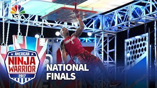 Najee Richardson at the Las Vegas National Finals: Stage 3 - American Ninja Warrior 2017