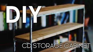 DIY CD Storage Cabinet