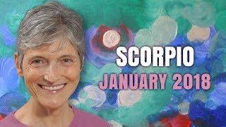 SCORPIO JANUARY 2018 HOROSCOPE FORECAST | Barbara Goldsmith Astrologer
