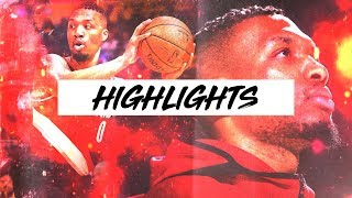 Best Damian Lillard Highlights 2017-2018 Season | Clip Session
