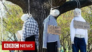 Russian artists changing face of protest - BBC News