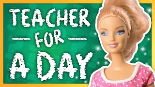 Barbie - Teacher for a Day | Ep.3