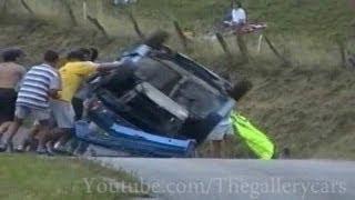 Renault 5 Turbo rally crash compilation!