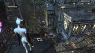 Batman: Arkham City Walkthrough HD - Chapter 28: Catwoman vs. Two-Face (Animated Series Costume)