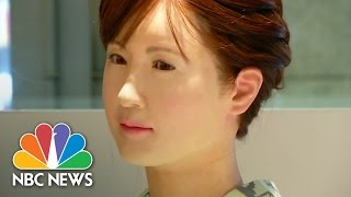 The Frighteningly Human Robot | NBC News