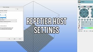 Setting Up Your 3D Printer With Repetier Host | My Settings | ABS & PLA Temperatures