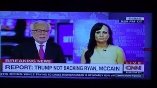 Donald Trump's Katrina Pierson's Disastrous CNN Wolf Blitzer Interview