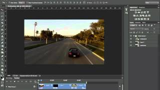 How to edit Video in Photoshop CC and CS6 | The Basics, Photoshop Tutorial