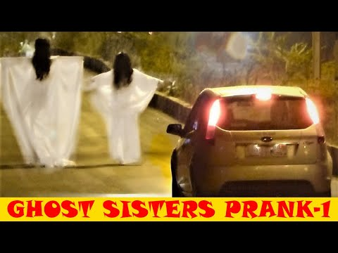 REAL GHOST SISTERS PRANK BEST FUNNY SCARY HILARIO