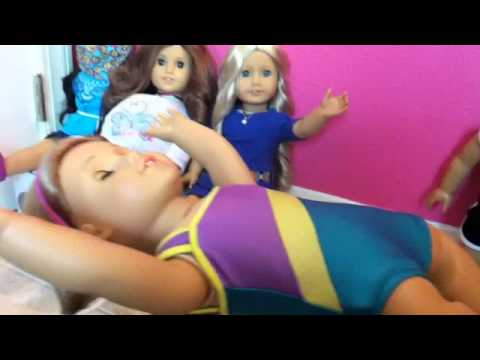 American Girl Doll Gymnastics competition 1