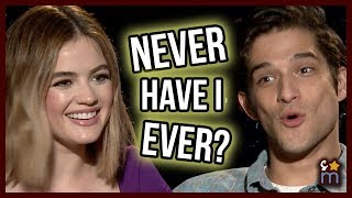 NEVER HAVE I EVER With Lucy Hale & Tyler Posey - TRUTH OR DARE Movie Interview Exclusive