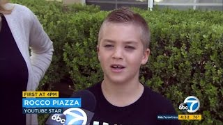 Rocco Piazza ON THE NEWS | PARENTS GET IN TROUBLE!!