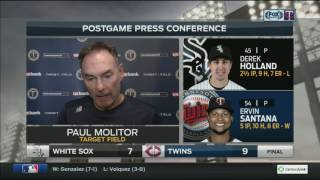 Twins manager Molitor on Vargas