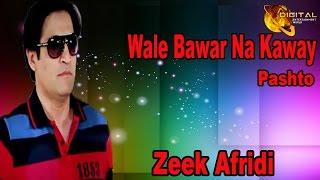 Wale Bawar Na Kaway | Pashto Pop Singer Zeek Afridi | Pashto Hit Song |