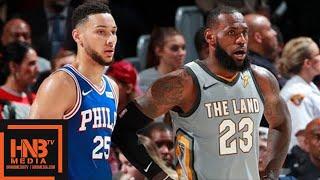 Cleveland Cavaliers vs Philadelphia Sixers Full Game Highlights / March 1 / 2017-18 NBA Season