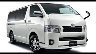 The New 2018 Toyota Hiace ☆ Redesign 6th Generation