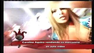 Caroline Aquino vendiendo su mercancía #Cooomooooo ???
