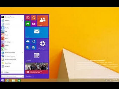 Xxx Mp4 How To Bring Back The Start Menu In Windows 8 1 Windows 8 3gp Sex