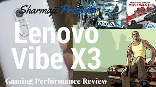 [Hindi - हिन्दी] Lenovo Vibe X3 Gaming/Battery/Heating Performance Review