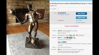 Mr. Olympia Sandow Trophy for Sale??