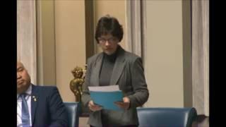 Janice Morley-Lecomte May 18, 2017 Members Statement