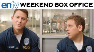 '21 JUMP STREET' WINS AT BOX OFFICE: Jonah Hill, Channing Tatum Fight Off Competition: ENTV