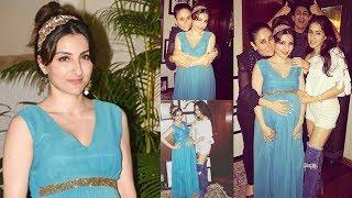 PREGNANT Soha Ali Khan, Sara & Ibrahim Spotted at Saif