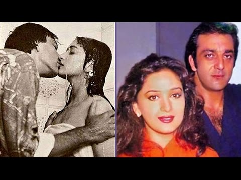 Ex Lovers Sanjay Dutt-Madhuri Dixit's KISSING Pictures | Bollywood Trivia