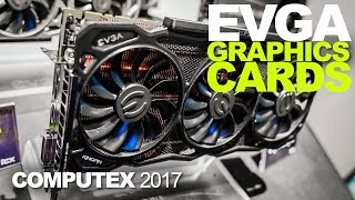 EVGA Shows Off The Kingpin and New GTX Graphics Cards!