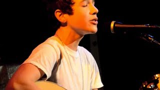 Austin Mahone - Let Me Love You - Live in New York - Mario cover