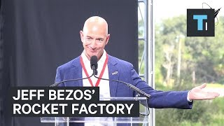 Jeff Bezos' space company is building a new rocket factory in Florida