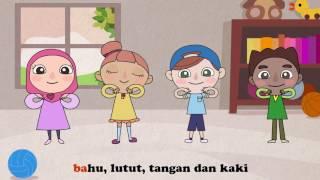 Lagu Kanak-kanak: Anggota Badan (Kepala Telinga Mata Hidung Mulut)