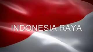INDONESIA RAYA  [3 stanza]