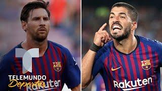 Los duros temores del Barcelona: Messi no anda bien y Suárez, HORRIBLE | Telemundo Deportes