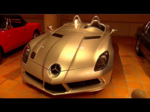 Prince of Monaco s Amazing Car Collection SLR Stirling Moss Countach Ferrari F1