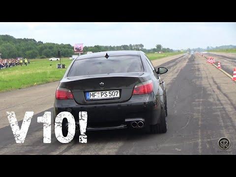 BMW M5 E60 V10! BRUTAL ACCELERATION!