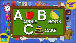 Umi Uzi | Learn ABC | Alphabet Song | Phonics For Kids | Educational Videos For Children