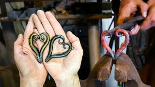 $20 Hand Forged Heart (Blacksmith Projects to Sell)