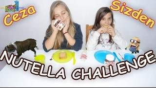 Nutella Challenge - Yenilene Cezayı Siz Vereceksiniz - Eğlenceli Çocuk Videosu - Funny Kids Videos