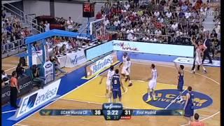 UCAM Murcia  81  -  88  Real Madrid