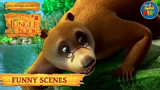 The Jungle Book Funny Scenes Compilation | Latest Cartoon Shows for Children